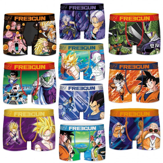 Boxer Homme Dragon Ball Z Ultimate Pack de 10 (Boxers) Freegun chez FrenchMarket