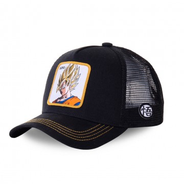 Casquette Trucker Dragon Ball Z San Goku (Casquettes) Capslab chez FrenchMarket