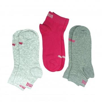 Chaussettes Femme-Fille Uni trois-quart (Chaussettes) PUMA chez FrenchMarket