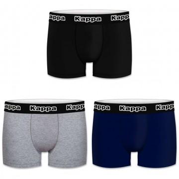 Boxers Homme Pack de 3 Coton Classic (Boxers) Kappa chez FrenchMarket