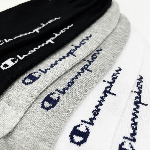 Socquettes Invisibles No Show - Lot de 3 (Chaussettes de sport) Champion chez FrenchMarket