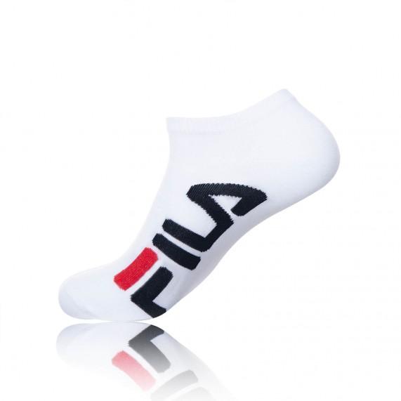Chaussettes Logo Fila Tiges courtes (Chaussettes de sport) Fila chez FrenchMarket