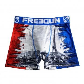 Boxer Homme Drapeau FRANCE (Boxers) Freegun chez FrenchMarket