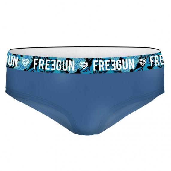 Lot de 4 Boxers Femme en Coton Bio (Boxers) Freegun chez FrenchMarket