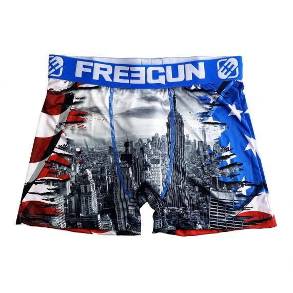 Boxer Homme Drapeau USA (Boxers) Freegun chez FrenchMarket