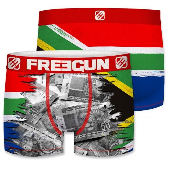 Boxer Homme Drapeau Afrique du Sud (Boxers) Freegun chez FrenchMarket