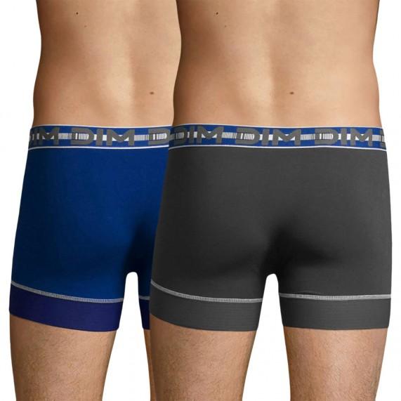 Lot de 2 Boxers Homme Coton Stay & Fit (Boxers) Dim chez FrenchMarket