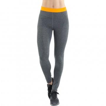 Legging de Sport FREEGUN AKTIV en microfibre pour femme long gris (Leggings Sport) Freegun chez FrenchMarket