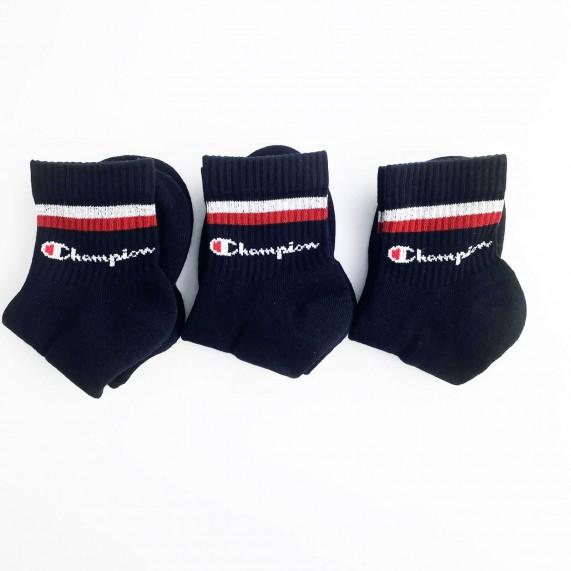 Chaussettes Tiges Courtes Classic Stripes Lot de 3 (Chaussettes de sport) Champion chez FrenchMarket