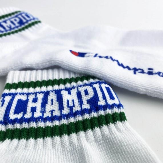 Chaussettes Tiges Courtes OLD SCHOOL Champion (Chaussettes de sport) Champion chez FrenchMarket