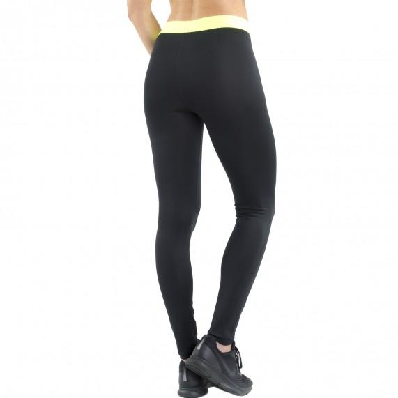 Legging de Sport FREEGUN AKTIV en microfibre pour femme long noir (Leggings Sport) Freegun chez FrenchMarket