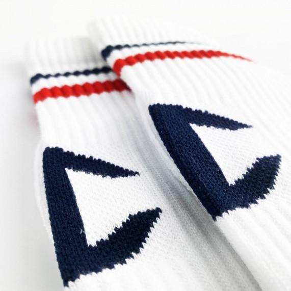 """Chaussettes Crew Rochester """"C"""" Logo Back (Chaussettes de sport) Champion chez FrenchMarket"""