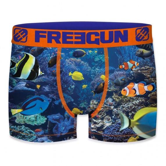 Lot de 4 Boxers Premium Homme (Boxers) Freegun chez FrenchMarket