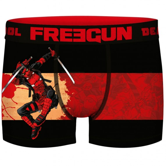 Lot de 5 Boxers Homme DEADPOOL Marvel (Boxers) Freegun chez FrenchMarket