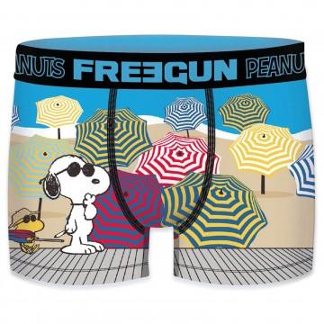 Boxer Homme Snoopy et les Peanuts (Boxers) Freegun chez FrenchMarket