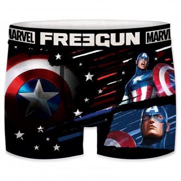 Boxer Freegun Homme Marvel Captain America (Boxers) Freegun chez FrenchMarket