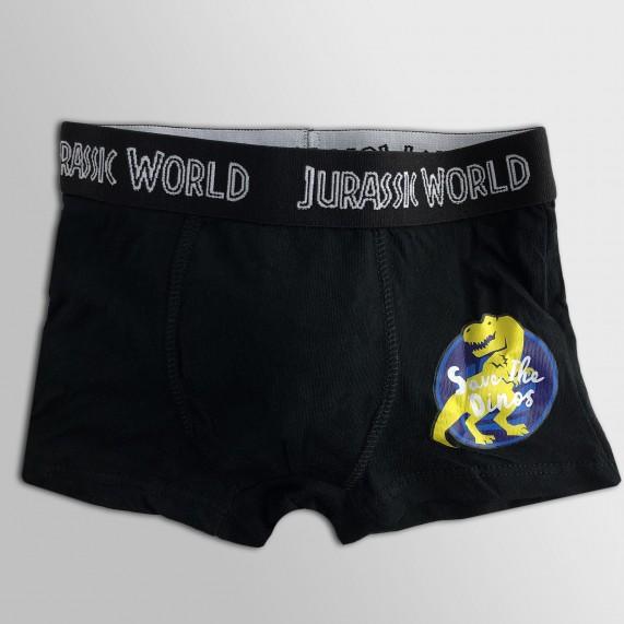 Lot de 5 Boxers Coton Garçon Jurassic World (Boxers) French Market chez FrenchMarket