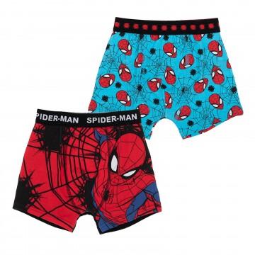 Spider-Man - Lot de 2 Boxers Coton Garçon (Boxers) French Market chez FrenchMarket