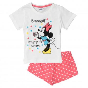 Disney Minnie Mouse - Ensemble de Pyjama Court Fille (Ensembles de Pyjama) French Market chez FrenchMarket