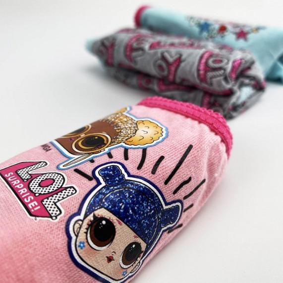 LOL Surprise! - Lot de 3 Culottes Coton Fille (Culottes) French Market chez FrenchMarket