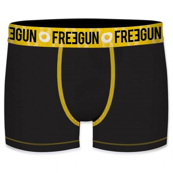 Lot de 4 Boxers Homme en Coton Bio (Boxers) Freegun chez FrenchMarket