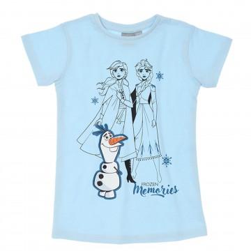La Reine Des Neiges - T-Shirt Fille en Coton (T-Shirts) French Market chez FrenchMarket