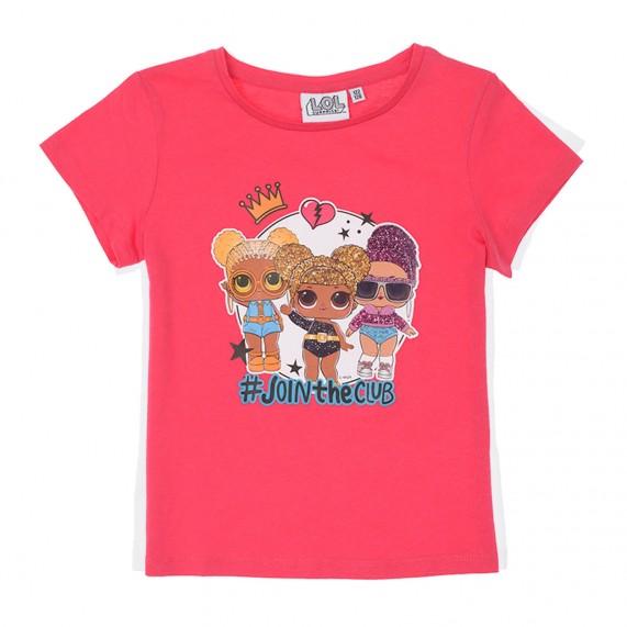 LOL surprise! - T-Shirt Fille en Coton (T-Shirts) French Market chez FrenchMarket