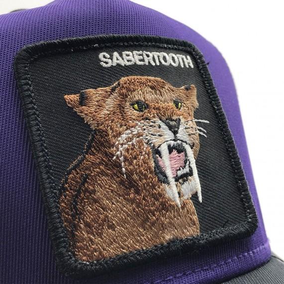Casquette Trucker Sabertooth - Tigre à Dents de Sabre (Casquettes) Goorin Bros chez FrenchMarket
