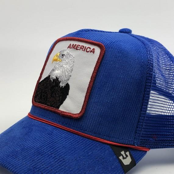 Casquette Trucker America Eagle (Casquettes) Goorin Bros chez FrenchMarket