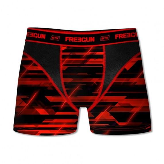 Lot de 4 Boxers Freegun Homme AKTIV Sport ASS2 (Boxers) Freegun chez FrenchMarket