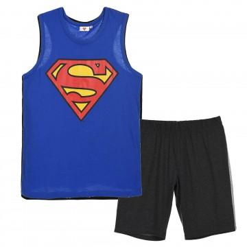 Pyjama Débardeur Homme Superman DC Comics en Coton (Ensembles de Pyjama) French Market chez FrenchMarket