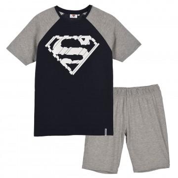 Pyjama Court Homme Superman DC Comics en Coton (Ensembles de Pyjama) French Market chez FrenchMarket