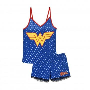 Pyjama Débardeur Femme Wonder Woman en Coton (Ensembles de Pyjama) French Market chez FrenchMarket