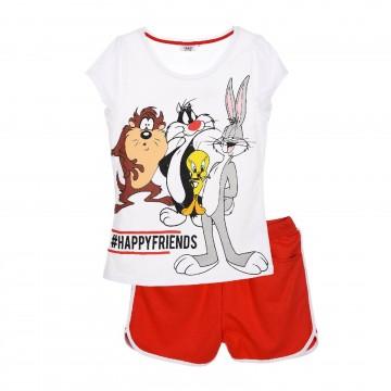 Pyjama Débardeur Femme Looney Tunes en Coton (Ensembles de Pyjama) French Market chez FrenchMarket