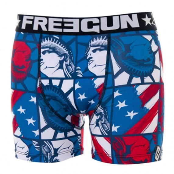 Boxer Garçon Drapeaux USA Liberty (Boxers) Freegun chez FrenchMarket