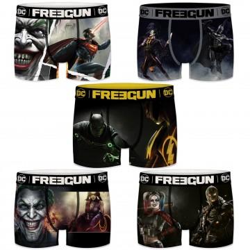 Lot de 5 Boxers Homme DC Comics Injustice 2 (Boxers) Freegun chez FrenchMarket