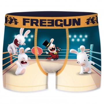 Boxer Homme Lapins Crétins (Boxers) Freegun chez FrenchMarket