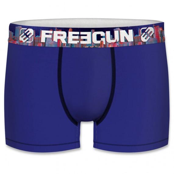 Lot de 4 Boxers Garçon en Coton Bio (Boxers) Freegun chez FrenchMarket