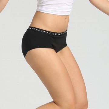Boxer Shorty Menstruel Lavable Coton Bio - Flux Abondant (Boxers) Dim chez FrenchMarket