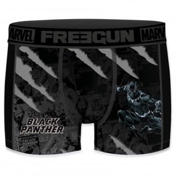Boxer Homme Aktiv Sport Marvel Black Panther (Boxers) Freegun chez FrenchMarket