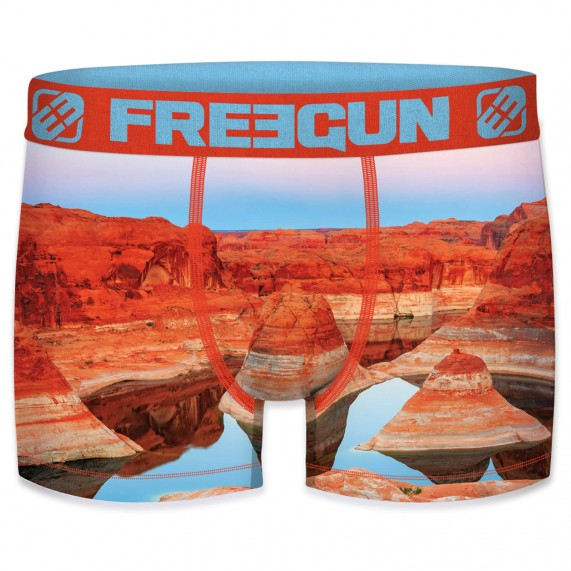 Boxer Freegun Recyclé Paysage (Boxers) Freegun chez FrenchMarket