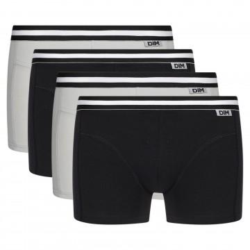 Lot de 4 Boxers Homme EcoDim Coton Stretch (Boxers) Dim chez FrenchMarket