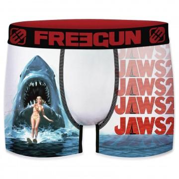 """Boxer Homme JAWS Dents de la Mer """"Film Culte Cinéma Universal"""" (Boxers) Freegun chez FrenchMarket"""