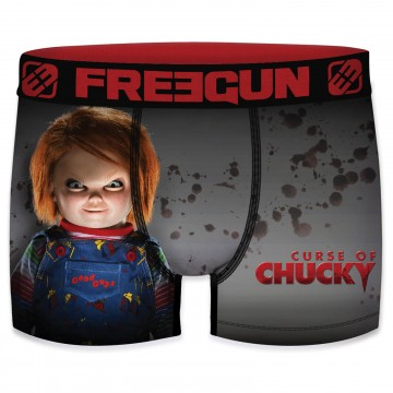 "Boxer Homme Chucky ""Film Culte Cinéma Universal"" (Boxers) Freegun chez FrenchMarket"