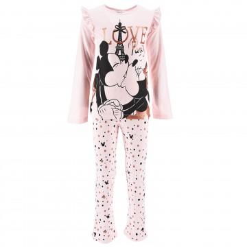 """Disney Minnie Mouse - Ensemble de Pyjama Long Fille """"Love Paris"""" (Ensembles de Pyjama) French Market chez FrenchMarket"""