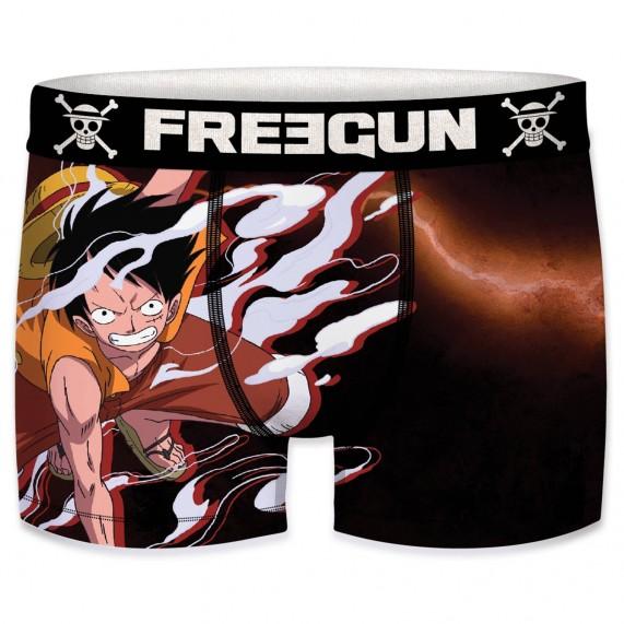 Lot de 5 Boxers Homme One Piece (Boxers) Freegun chez FrenchMarket