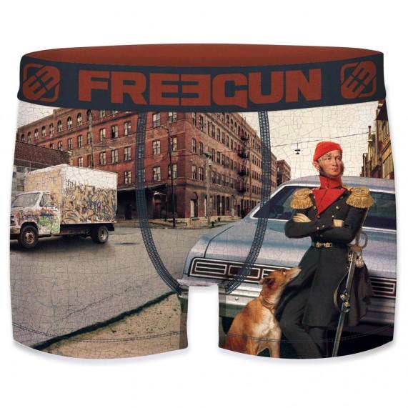 """Boxer Homme Peinture """"Street Art"""" (Boxers) Freegun chez FrenchMarket"""