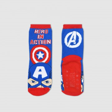 MARVEL Avengers - Chaussettes Garçon Antidérapantes (Fantaisies) French Market chez FrenchMarket