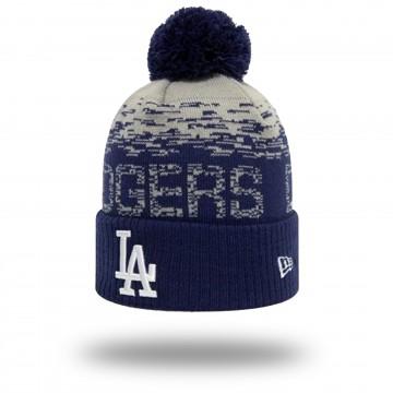 Bonnet Los Angeles Dodgers Sport Knit pompom (Bonnets) New Era chez FrenchMarket