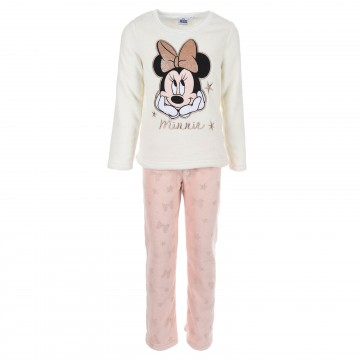 Minnie Mouse - Ensemble de Pyjama Polaire Fille (Ensembles de Pyjama) French Market chez FrenchMarket
